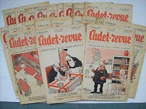 Cadet-revue-Alain-Saint-Ogan-Zig-et-Puce-21-numeros-1936-1937