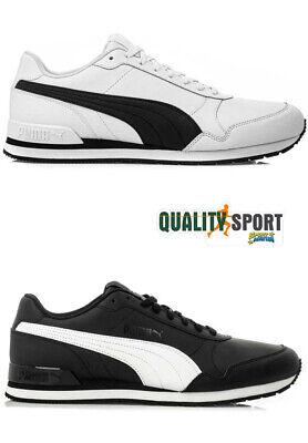Puma ST Runner Nero Bianco Scarpe Shoes Uomo Sportive Sneakers 365277 11 13 2019 | eBay