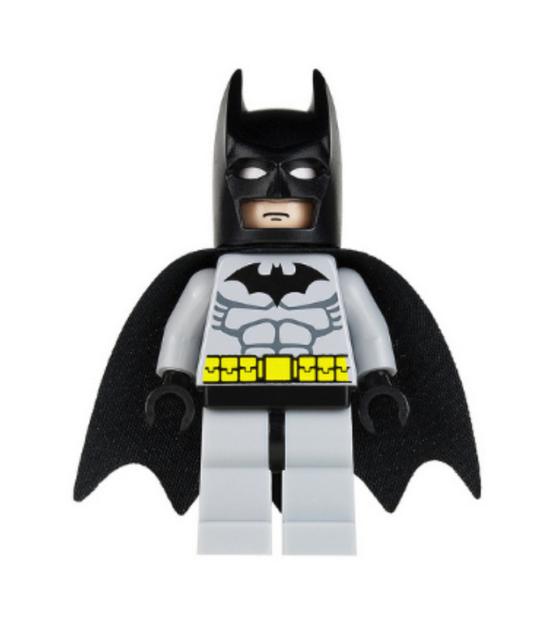 Lego Batman 7779 7780 7782 Minifigure Black Gray suit