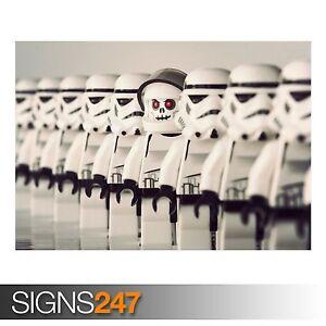 Star Wars Stormtrooper Poster Print T260 A4 A3 A2 A1 A0|