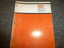 Case Model 220 222 442 444 Compact Tractor Parts Catalog Manual Book 1181