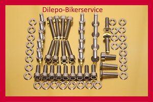 Honda CB 550 CB550 Four  V2A Schrauben Edelstahl Vergaserschrauben Schraubensatz