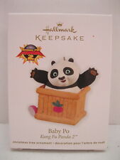 NIP Hallmark Keepsake Panda Bear I Am One Ornament