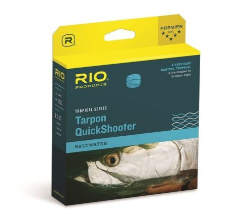 FLOATING TROPICAL SALTWATER FLY LINE NEW RIO TARPON QUICKSHOOTER WF-11-F #11 WT