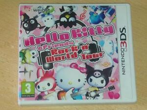 Hello-Kitty-amp-Friends-Rock-n-039-World-Tour-Nintendo-3DS-2DS-GB