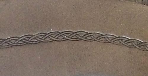 leather archery arm guard,bracer,armguard,larp,pagan Arrow Basket weave type 3