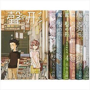 A Silent Voice VOL.1-7 Comics Complete Set Japan Comic F/S