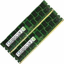 Samsung 16GB 2X8GB PC3L-10600R DDR3-1333MHz ECC Registered CL9 1.35V Memory RAM