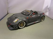 MUSCLE MACHINES 1/18 TUNERS GRAY NISMO 2004 NISSAN 350Z USED VERY NICE NO BOX