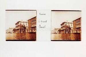 Venise-Venezia-Grand-Canal-Italie-Italia-Plaque-de-verre-Stereo-positive-ca-1905