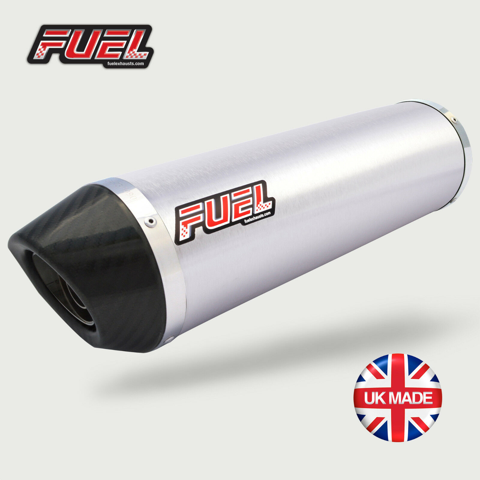 Triumph Daytona 600 Diablo Brushed S S Round Mini UK approved exhaust