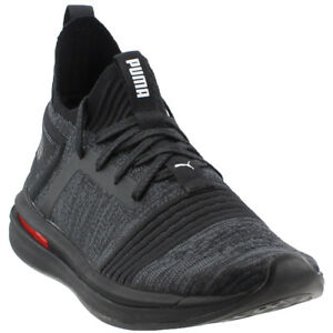 Image is loading Puma-Ignite-Limitless-SR-Evoknit-Sneakers-Black-Mens 63fc77a08