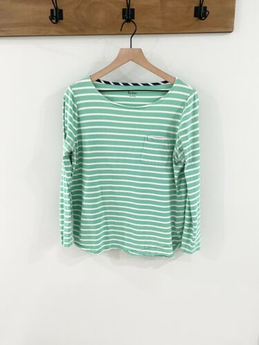 Boden Long Sleeve Striped Tee Size 14