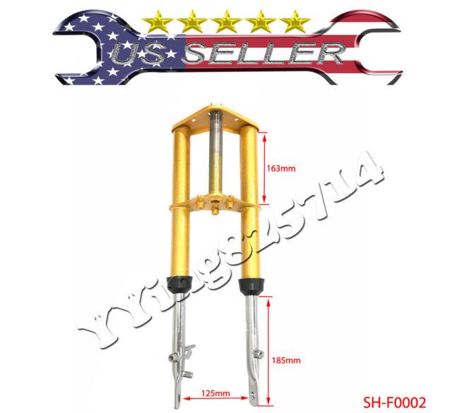Gold Stock Forks Suspension for Honda 50 XR50 CRF50 front forks SUSPENSION for HONDA 50 XR pit bike parts