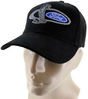 Ford Mustang Snake Black Baseball Cap Trucker Hat Snapback 5.0 Liter Gt Shelby