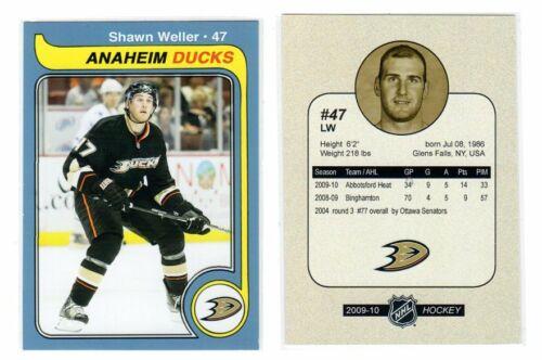 Shawn Weller Anaheim Ducks Tölzer león Bietigheim steelers Tower Stars eislöwen