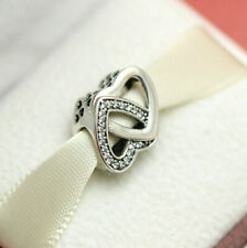 819012890 Authentic Pandora Entwined Love Bead 791880CZ Wife Mom Mothers Day Gift