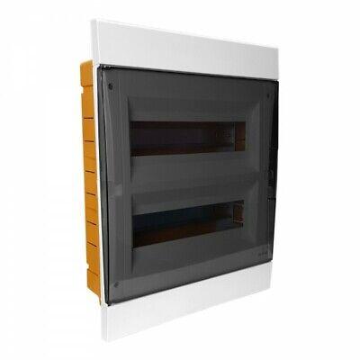 Distribution Box Flush-Mounted 24//26 Module Fuse Box White IP40 M-L 1077