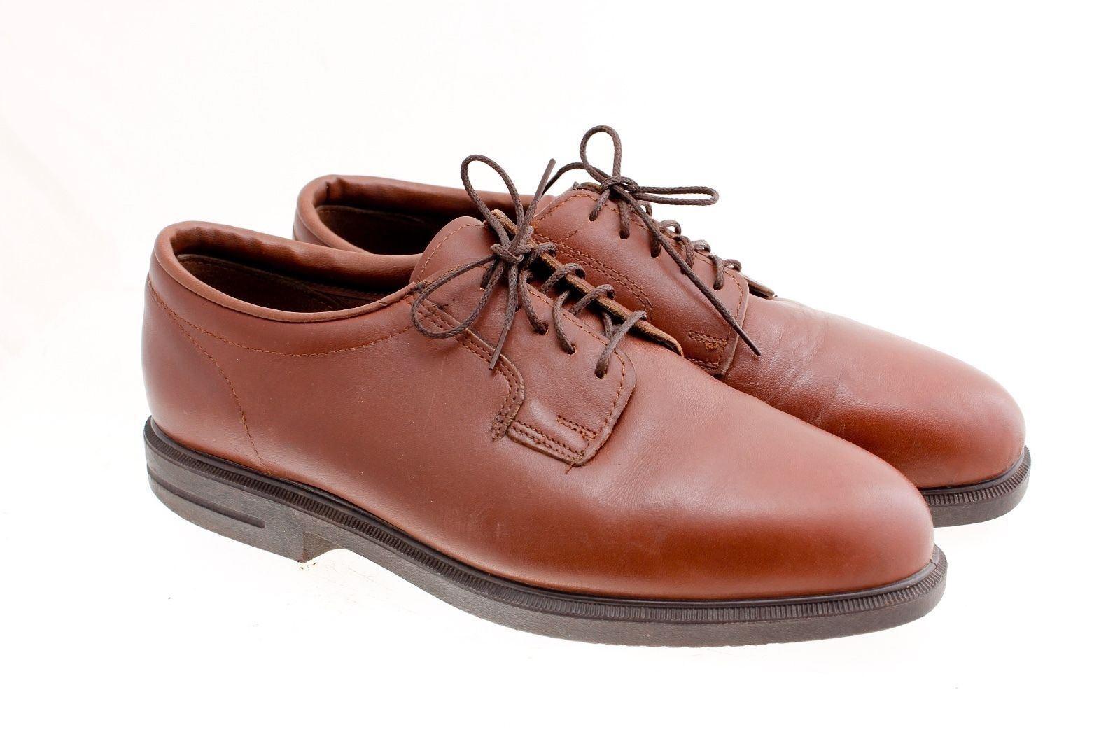 All American Chaussure styles marron Oxford No Slip 10.5 en cuir