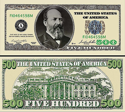 $100 Poker Play Money Hundred Dollar Bill Fake Funny Money with FREE SLEEVE
