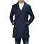Cappotto-Doppio-Petto-Uomo-Invernale-Cappottino-Elegante-Lungo-Trench miniatura 17