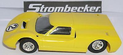 Workmanship Able Strombecker 9525 Ford J #2 Yellow Ausgezeichnet Zustand Unboxed Exquisite In
