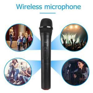 V-10-Smart-Kabelloses-Mikrofon-Funkmikrofon-Wireless-Karaoke-Mic-USB-Empfaenger