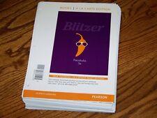 Precalculus, Books a la Carte Edition by Robert F. Blitzer (2013, Binder ready
