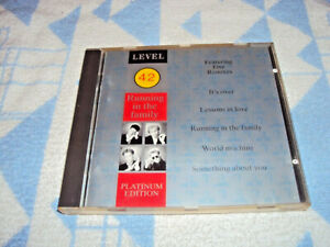 Level 42  Running In The Family (Platinum Edition) REMIXES CD