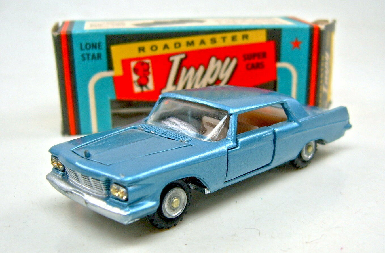 Lone Star Impy no. 12 Chrysler Imperial blumet. istituzione GRIGIA TOP IN BOX