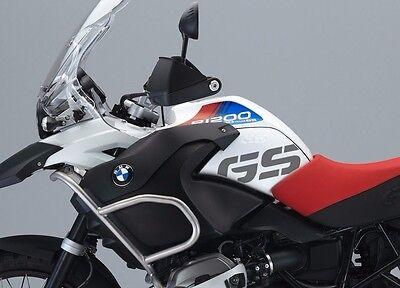 Silver Metallic Dark Matte BMW R1200GS LC Adventure BMW Side tank stickers