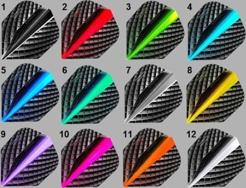 6,9,15,30 Harrows Quantum Dart Flights 2,3,5,10 Sets für Supergrip Fusion Shafts