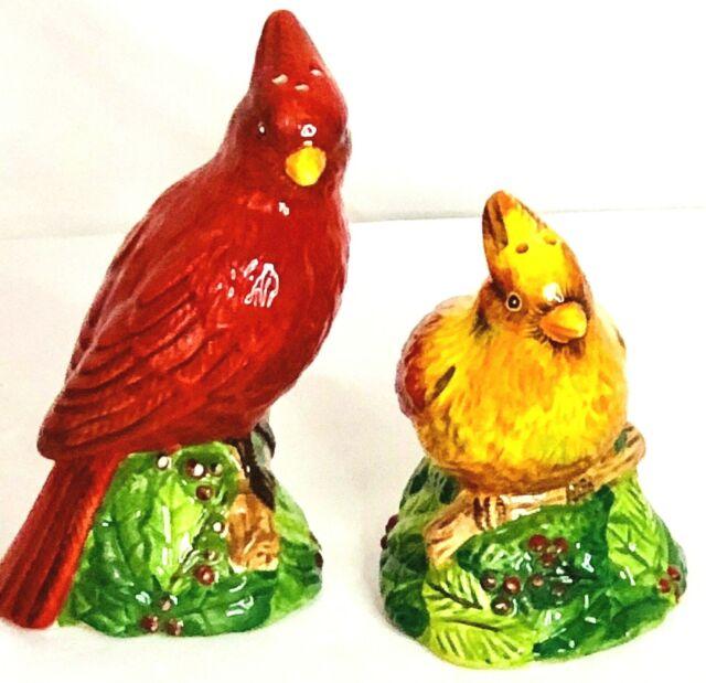 Holiday Birds Salt /& Pepper Shakers