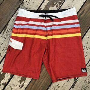 bff65699d5 QUIKSILVER SURF • Men's DIAMOND DOBBY Stretch Surfing Board Shorts ...