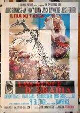 manifesto 2F originale LAWRENCE OF ARABIA Peter O'Toole David Lean 1970