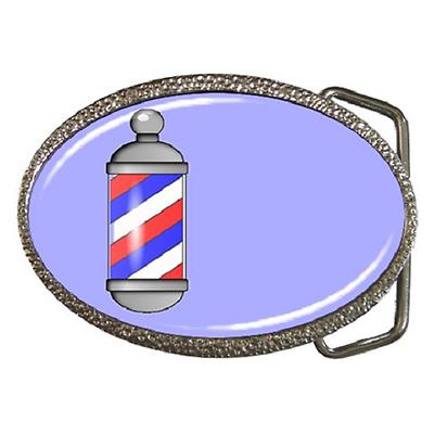 Perseverando Barber Pole Classico Retrò Shop Fibbia Della Cintura-fantastico Regalo Articolo- Può Essere Ripetutamente Ripetuto.