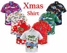 New Mens Christmas Fancy Dress Novelty Hawaiian Party Top Stag and Hen Do Shirts