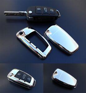 Peugeot Citroen Skoda Schlüssel Cover Key Hülle Fernbedienung Blende Schwarz C31