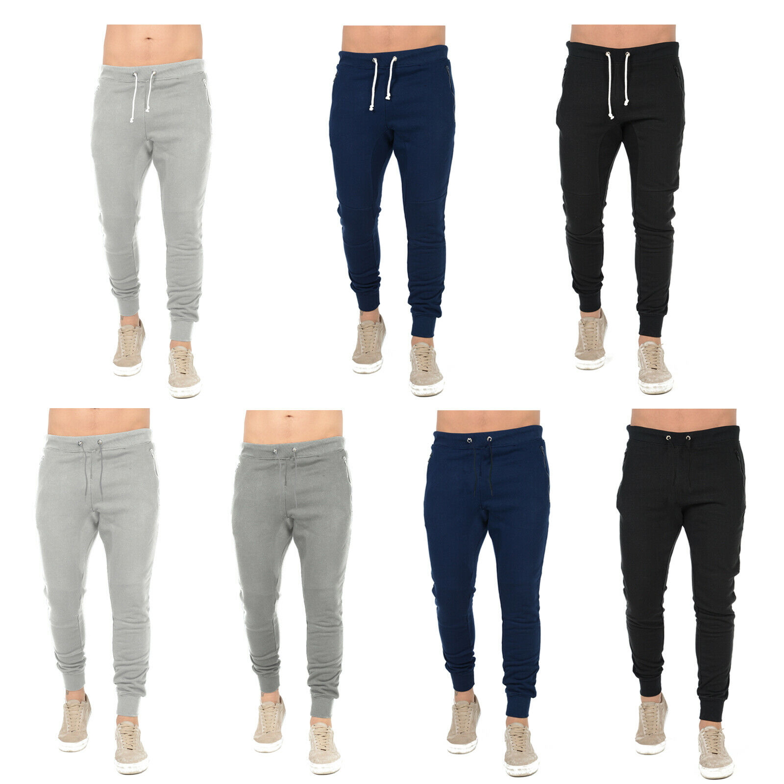 Lonsdale Essential Sweatpants Mens Gents Fleece Jogging Bottoms Trousers Pants