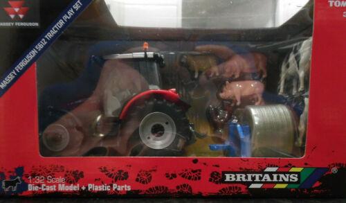 Britains TRATTORE modelli 1//32ND SCALA Massey Ferguson 5612 Trattore Play Set