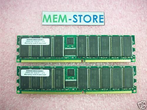 2x2GB 300682-B21 4GB PC2100 Memory Kit  HP ProLiant