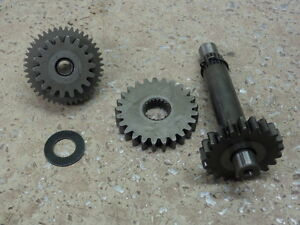 Image Is Loading 1998 HONDA FOURTRAX 300 STARTER DRIVE GEAR ASSEMBLY