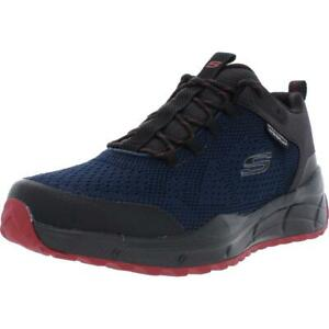 Skechers-Mens-Equalizer-4-0-Black-Hiking-Trail-Shoes-10-5-Medium-D-BHFO-0608