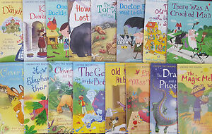 Usborne-Very-First-Reading-Level-2-16-Books-New-Free-P-amp-P