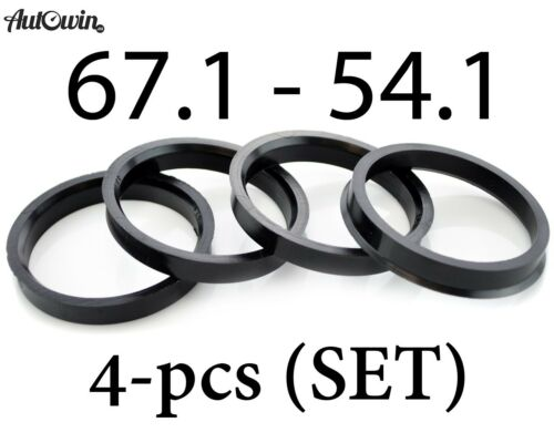 Hub Centric Rings Alloy Wheels Spigot Rings Centre Rings 67.1-54.1 67.1-54.1