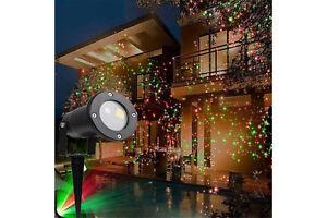 Faro led picchetto proiettore puntini giardino sensore crepuscolare