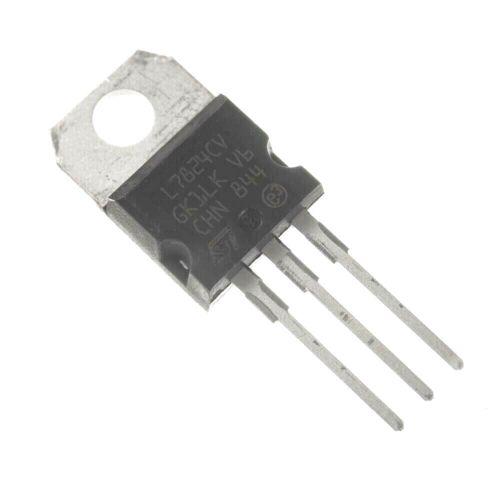 1PCS STMicroelectronics L7824CV Voltage Regulator IC REG LINEAR 5V 1.5A TO220AB