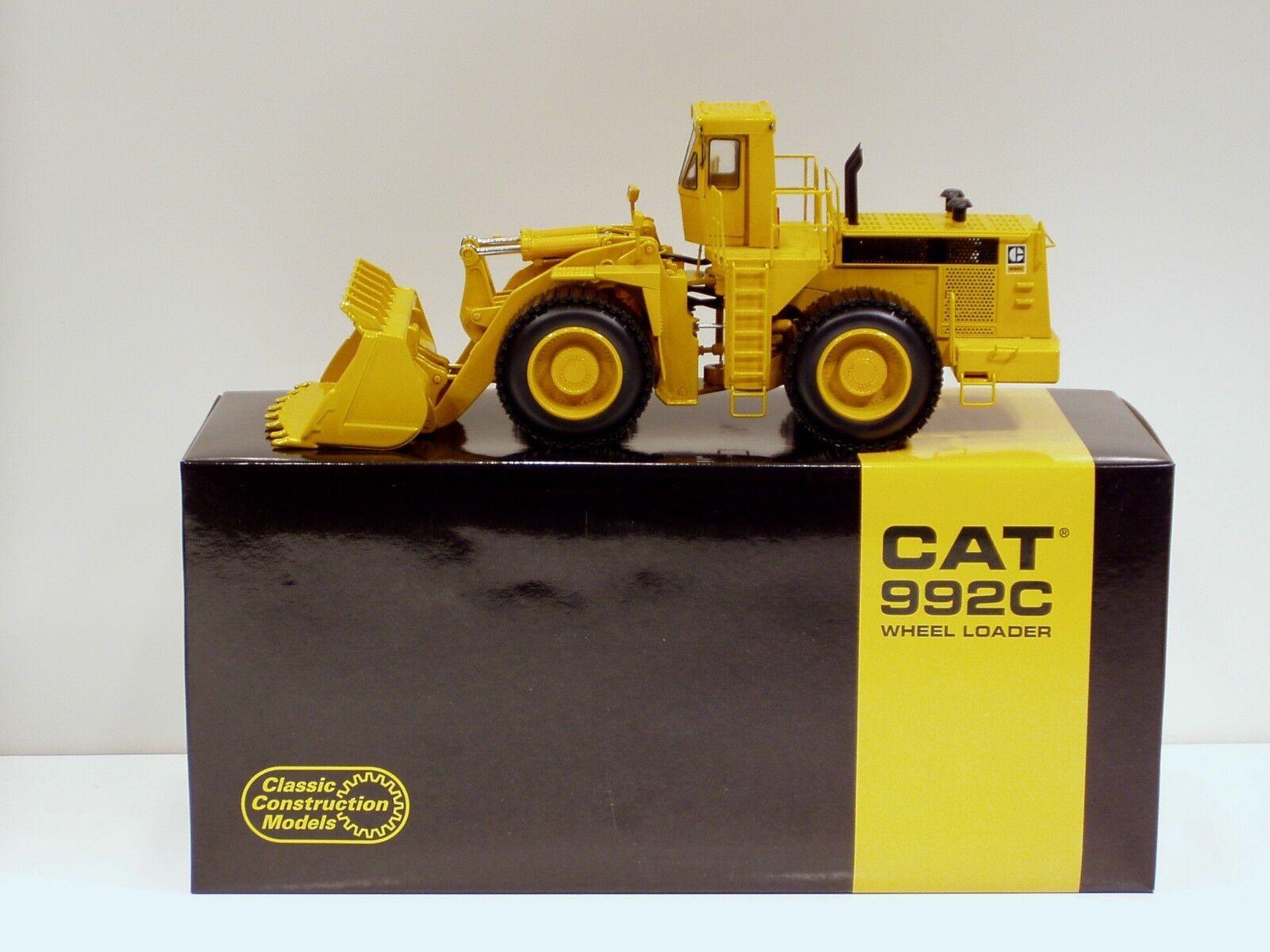 Caterpillar 992 C CHARGEUSE  Bague pneu  - 1 48 - CCM-Diecast-neuf 2012