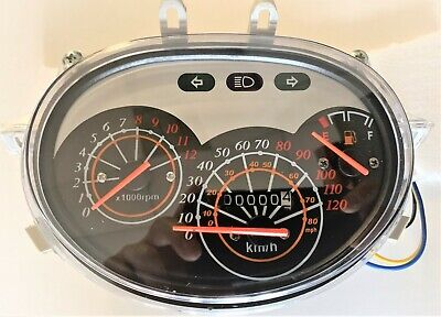Scooter Speedometer Gauge Instrument Chinese GY6 150cc  VIP FUTURE CHAMPION