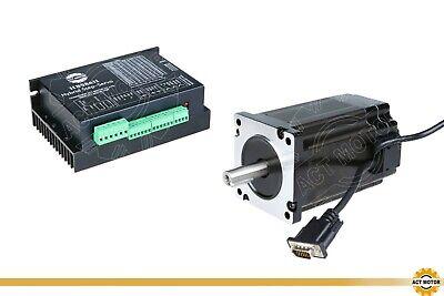 1PC Nema34 Encoder 34SSM1460-EC1000 Closed Loop 6A 9Nm Φ14mm+Treiber HBS86H
